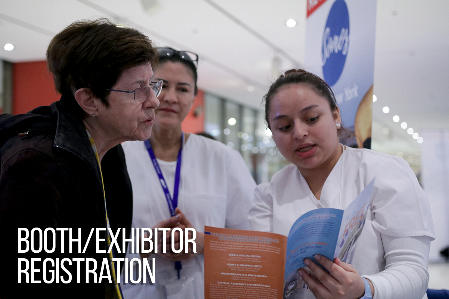 Booth/Exhibitor Registration for Albany2020